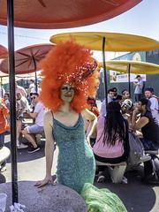 Standing out in a crowd (C@mera M@n) Tags: brooklyn city coneyisland landmark mermaid mermaidparade ny nyc newyork newyorkcity newyorkcityphotography newyorkphotography parade people place places surfavenue urban outdoors tatoos