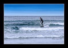 Surfin' York Beach Maine (Peter Camyre) Tags: york beach maine surfing fun sky blue sand water atlantic ocean peter camyre photography canon 1dx mkii 70200 lens image