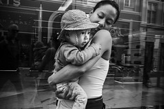 Images on the run... (Sean Bodin images) Tags: streetphotography streetlife copenhagen citylife candid city citypeople children busstop