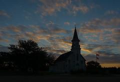 Saints Cyril and Methodius Catholic Church - Dubina, Texas (lonestarbackroads) Tags: sunrise morning texas building architecture structure church catholic christian historic rural