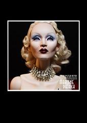 Marlene Dietrich - Inamorata OOAK (em`lia) Tags: marlenedietrich emiliacouture inamorata inamoratadoll ooak artdoll artdeco filmstar icon lookalike glamour bjd fashiondoll