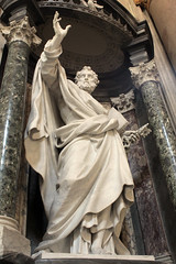 Marble Sculpture at Basilica of St. John's of Laterno 06182018 (Orange Barn) Tags: rome italy carved sculpture marble apostles
