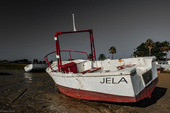Boats... (hobbit68) Tags: boot boats spanien  fujifilm xt2 himmel sky sand water ebbe wasser baum tree old wrack espana espanol espagne andalusien andalucia holiday summer urlaub hafen port puerto sun sommer sonne sonnenschein sonnenaufgang strand beach playa