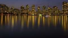 Vancouver Cityscape (Jack Heald) Tags: vancouver canada bc cityscape nightscape night waterfront water nikon d750 zeiss 21mm milvus reflections heald jack travel tourist tourism city britishcolumbia skyline sky park