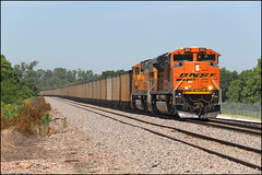 BNSF 9122 (Justin Hardecopf) Tags: bnsf burlingtonnorthernsantafe 9122 emd sd70ace coal cullom nebraska railroad train