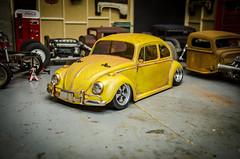 Tamiya M06 Volkswagen Beetle Patina-8 (Strangely Different) Tags: rceveryday rcengineering scaler scalerc hobby tinytrucks tamiya rc4wd axial m06 mini vw volksrod volkswagenbeetle patina lexan