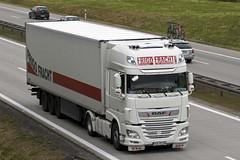 """Daf xf116 """" FRIGO FRACHT """" (PL) (magicv8m) Tags: tir trans transport lkw daf"""