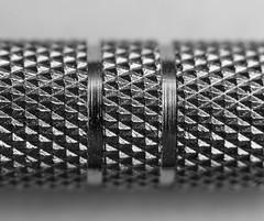 Diamonds (daveflitter) Tags: bw blackandwhite macro closeup texture pattern abstract