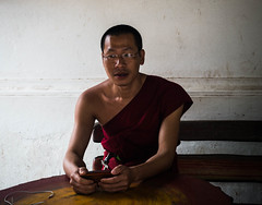 Monk (yemaria) Tags: laos monk buddhism luangprabang watwisunarat nikkor nikond800e yemaria
