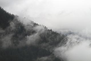 Misty mountains, Brackendale (Squamish)