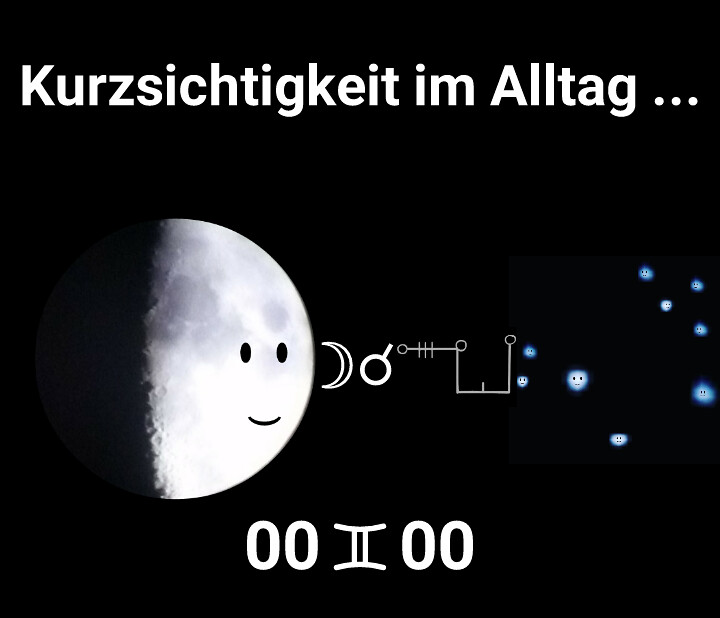 Mond Konjunktion Plejaden