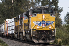 ACe bookends (Tom Trent) Tags: junctioncity oregon unitedstates us sd70ace emd up unionpacific hkrv meadowview lanecounty freight