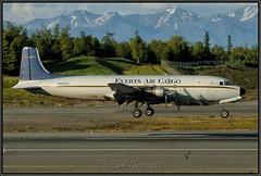 N251CE Everts Air Cargo (Bob Garrard) Tags: n251ce everts air cargo douglas c118a 533241 us navy buno 153693 dc6 anc panc
