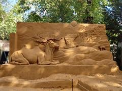 Egypt (Fullenergygirl) Tags: sandsculpturefestival odensezoo danmark animal sand egypt camels camel