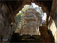 Angkor, Preah Khan Arch 20180203_125343 DSCN2700 (CanadaGood) Tags: asia seasia asean cambodia siemreap angkor buddhist hindu khmer preahkhan temple tree building architecture archaeology canadagood 2018 thisdecade color colour