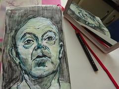 EL CUADERNO (GARGABLE) Tags: angelbeltrán apuntes sketch drawings materiales gargable