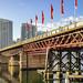 View of the historic Pyrmont Bridge