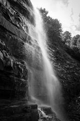 A White Flow - 2 (Jethro_aqualung) Tags: nikon d3100 nature abruzzo laga italy water waterfall monochrome bn bw