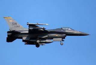 Air Force F-16C Fighting Falcon, 79th Fighter Squadron, 20th Fighter Wing, SW-082,