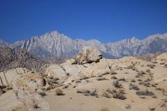 Moby Rock (Gunn Shots.) Tags: rock rocks alabamahills lonepine easternsierra mountwhitney sierranevada scrub desert sand whale fish strangerockformation