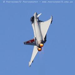 6100 Typhoon (photozone72) Tags: fairford aviation airshows aircraft airshow canon canon7dmk2 canon100400f4556lii 7dmk2 typhoon eurofighter raftyphoondisplay