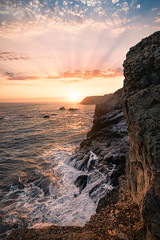 Marin Headlands X (sberkley123) Tags: ngc flickrsbest california d850 nikon marin usa sunset ocean colors marinheadlands sanfrancisco coast pacific 1424mm