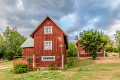 Smaland country house (JnHkstr) Tags: 2018 vakantie2018 zweden smaland sweden sverige woodenhouse countryside