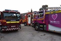 DSC_9261 (matthewleggott) Tags: humberside fire rescue service engine appliance exercise holme hall east riding yorkshire care home