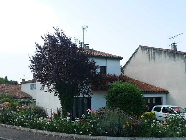Les maisons fleuries de Boé