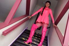 Pink Latex WestwardBound (MissCassandra) Tags: latex
