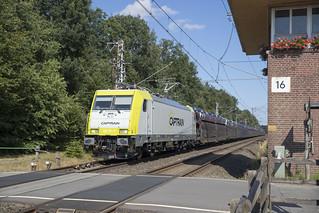 D Captrain 186 151-7 Gildehaus 08-07-2018