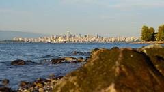 Vancouver behind (afagen) Tags: vancouver britishcolumbia bc canada acadiabeach beach burrardinlet skyline