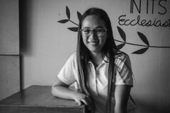 Stranger 61/100 (Stitch) Tags: girl coffee shop snack manolofortich bukidnon philippines mindanao 100strangers hellostranger portrait