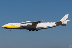 UR-82060 / Antonov An-225 / @ LEJ / 2018-04-06 (astrofreak81) Tags: antonovan225 antonov an225 ur82060 mriya lej leipzig plane aircraft