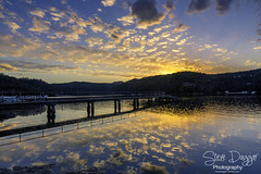 0S1A9762 (Steve Daggar) Tags: sunset woywoy reflection reflections wharf jetty nswcentralcoast