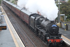 ROSYTH 44871 (johnwebb292) Tags: wcr srps rosyth fifecircle steam black5 lms 44871