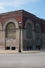 Pullman (J.G. Park) Tags: 2018 pullman arch building chicago door house illinois it number southchicago streetlamp window yardornaments