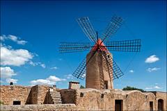 algaida (heavenuphere) Tags: algaida mallorca majorca balearicislands islasbaleares spain espana island europe windmill 24105mm