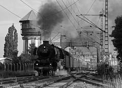Von Oldenburg in den Harz (Klaus Z.) Tags: eisenbahn kbs 390 oldenburg huntebrücke wasserturm br 01 1066 personenzug sonderzug dampflok