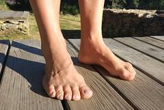 Descalzo sobre la mesa al sol (VIVE DESCALZO) Tags: descalzo barefoot barefooter barfus