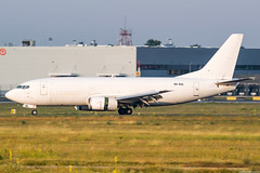 9H-AUL (Andras Regos) Tags: aviation aircraft plane fly airport spotter spotting bud lhbp landing boeing 737 cargo freighter panning