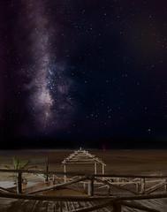 Via Láctea. Milky Way (mabello_10) Tags: milkyway milky via lactea noche estrellas stars mar sea