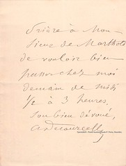 DECOURCELLE (Operabilia) Tags: claudepascalperna goldenage opera lirica autographe autograph operabilia dominiquejpréaux dominiquepréaux opéradeparis opéracomique paris