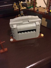 Quick Bunker build! (thelameguitarist) Tags: lego bunker pillbox ww1