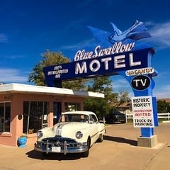 Blue Swallow (Thomas Hawk) Tags: america blueswallowmotel newmexico route66 tucumcari usa unitedstates unitedstatesofamerica auto car motel neon us fav10 fav25 fav50 fav100