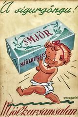 Victory Parade (tagois) Tags: advertisement iceland ísland reykjavík smjör auglýsing poster plakat butter