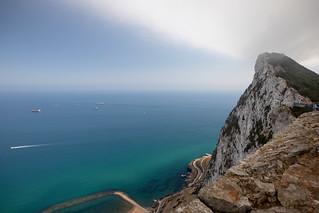 Levant cloud over Gibraltar #levant  #clouds #rock #gibralter