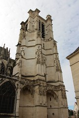 Troyes Cathedral (demeeschter) Tags: france champagne aube troyes city town building architecture church cathedral religion culture art street medieval museum archaeology heritage historical