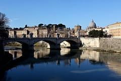 Ponte Sant'Angelo - Explore on July,08 (Juliotrlima) Tags: pontesantangelo aelianbridge ponsaelius canon italia italy roma vaticano 2470 markiii europa europe