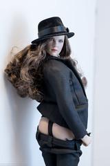 Leave Your Hat On, Part Five (edwicks_toybox) Tags: 16scale gactoys tbleague brunette fedora femaleactionfigure hat highheels magiccube phicen poptoys seamlessbody zytoys
